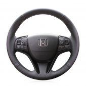 For Honda Spirior 2017, Custom Genuine Leather Steering Wheel Wrap Cover