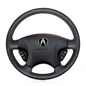 For Acura CL 1998-2003 MDX 2001-2002 Honda Accord 6 1998- 2002 Odyssey 1998-2001, Genuine Leather Steering Wheel Cover