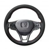 For Honda Accord 10 2018 2019 Insight 2019, Custom Genuine Leather Steering Wheel Wrap Cover