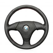 For BMW E36 E46 E39 Fits Without Multi Function Button Steering Wheel, Design Genuine Leather Hand Sew Steering Wheel Cover
