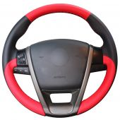 For MG6 MG 6, Customize Your Leather Suede Hand Stitch Cover Steering Wheel Skin