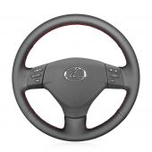 For Lexus RX330 RX400h RX400 2004 2005 2006 2007 Toyota Corolla Verso 2006 Camry 2004 2005 2006, Genuine Leather Steering Wheel Cover