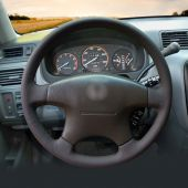For Honda Accord 6 1998-2002 Odyssey 1998-2001 Acura CL 1998-2003 MDX 2001-2002, Customize Stitch Steering Wheel Cover