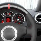 MEWANT Black Leather Suede Carbon Fiber Car Steering Wheel Cover for Audi A2 (8Z) A3 (8L) Sportback A4 (B6) Avant A6 (C5) A8 (D2) TT (8N) S3 S4 RS 4 RS 6 for A2 (8Z) A3 (8L) Sportback A4 (B6) Avant A6 (C5) A8 (D2) TT (8N) S3 S4 RS 4 RS 6